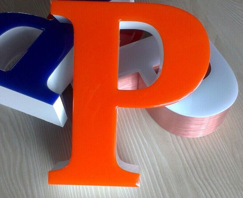 精品环氧树脂发光字 led门头招牌制作 亚克力发光字 户外招牌字